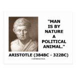 Man Is By Nature A Political Animal (Aristotle) Postcards
