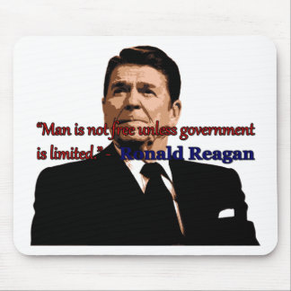 Man is Not Free Unless Government is Limited Mouse Pad