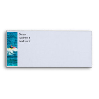 Man Jet Skiing Envelopes