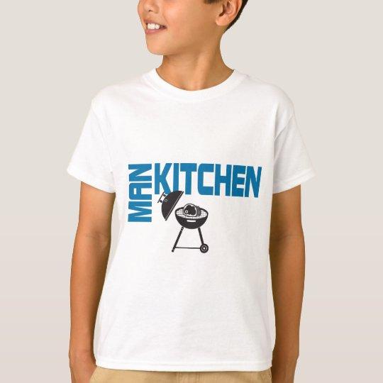 Man Kitchen Grill T-Shirt