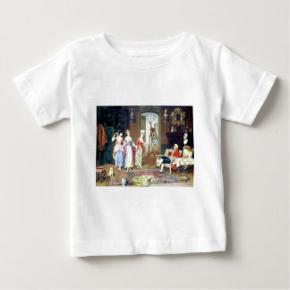 Man Ladies Victorian Three Graces painting Baby T-Shirt