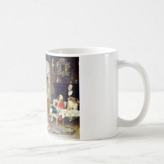 Man Ladies Victorian Three Graces painting Coffee Mug