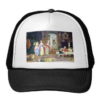 Man Ladies Victorian Three Graces painting Trucker Hat