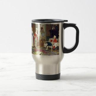 Man Ladies Victorian Three Graces painting Travel Mug