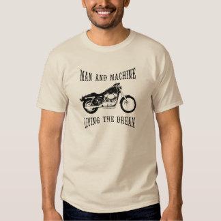 Man & Machine Living The Dream T Shirt