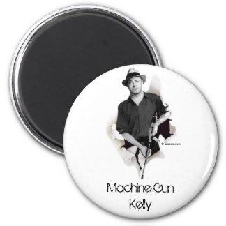 Man & Machine - Machine Gun Kelly 2 Inch Round Magnet