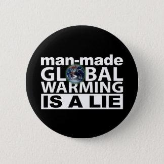 Man-Made Global Warming is a Lie Button