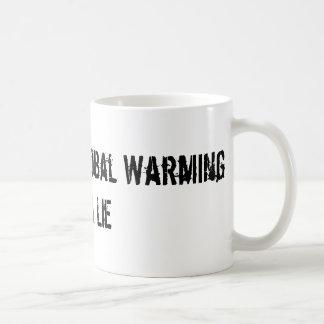 Man Made Global Warming Is A Lie Coffee Mug