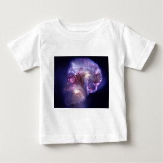 Man Made Heaven Nebula Space Art Baby T-Shirt