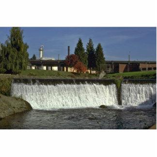 Man-Made Waterfall Photo Cut Out