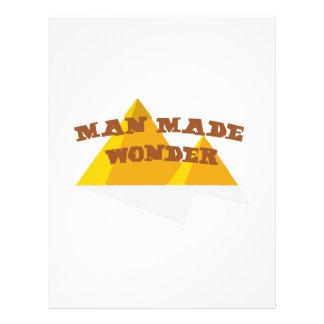 Man Made Wonder Letterhead