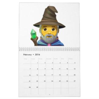 Man Mage - Emoji Calendar
