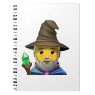 Man Mage - Emoji Notebook