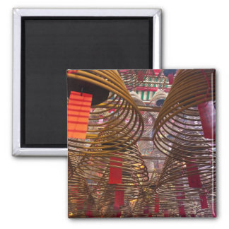 Man Mo Buddhist Temple of Hong Kong 2 2 Inch Square Magnet