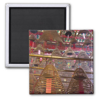 Man Mo Buddhist Temple of Hong Kong 2 Inch Square Magnet