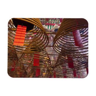 Man Mo Buddhist Temple of Hong Kong 2 Rectangular Photo Magnet