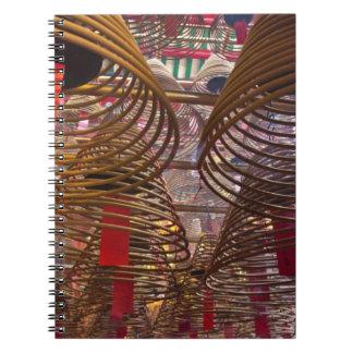 Man Mo Buddhist Temple of Hong Kong 2 Spiral Notebook