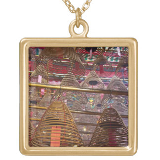 Man Mo Buddhist Temple of Hong Kong Gold Plated Necklace