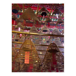 Man Mo Buddhist Temple of Hong Kong Postcard