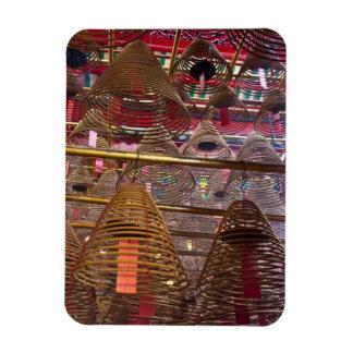 Man Mo Buddhist Temple of Hong Kong Rectangular Photo Magnet