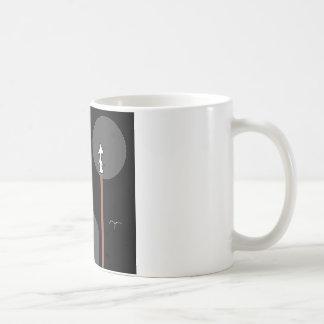 MAN MOON COFFEE MUG