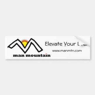 Man Mountain Bumper Sticker