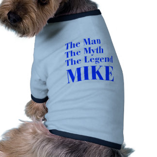 man-myth-legend-mike-bod-blue.png dog tshirt