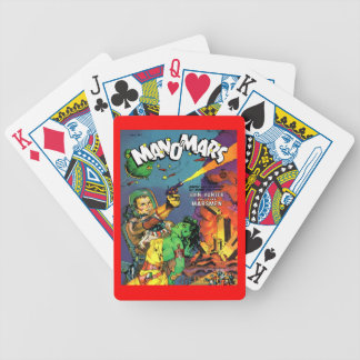 MAN O' MARS Cool Vintage Comic Book Cover Art Bicycle Playing Cards