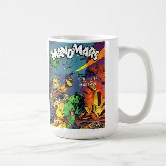 MAN O' MARS Cool Vintage Comic Book Cover Art Mug