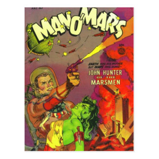 Man O' Mars Postcard