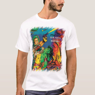 Man O' Mars Vintage 50s Sci Fi Comic Book T-Shirt