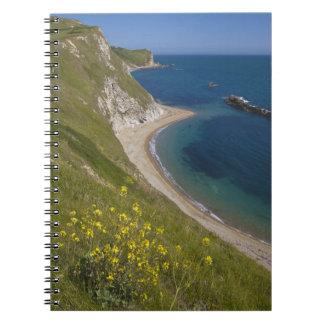 Man o War Bay, Jurassic Coast, Lulworth, Dorset, Notebook