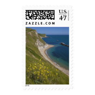 Man o War Bay, Jurassic Coast, Lulworth, Dorset, Postage