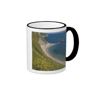 Man o War Bay, Jurassic Coast, Lulworth, Dorset, Ringer Mug