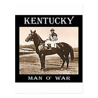 Man O' War Postcard