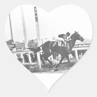 man o war heart stickers