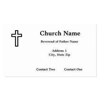 Man of God Business Cards