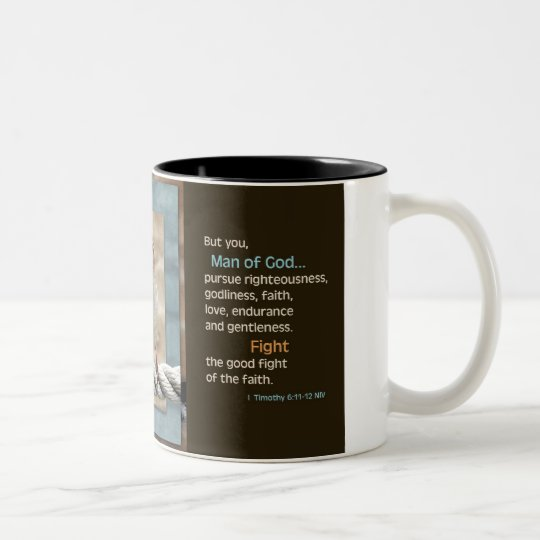 Man of God NIV Mug