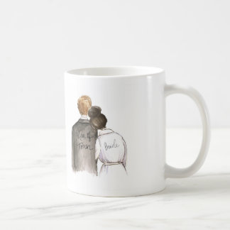 Man of Honor? Mug Dk Br Bun Bride Blonde Man