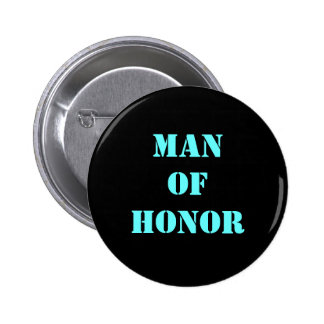 Man of Honor Pinback Button
