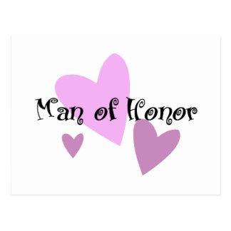 Man of Honor Postcard