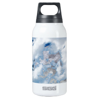 Man Of Many Words Insulated Water Bottle