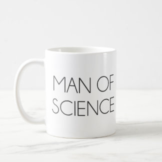 Man Of Science Coffee Mug
