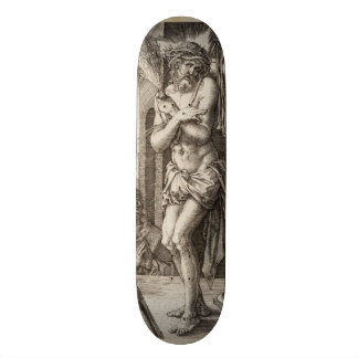 Man of Sorrows by Albrecht Durer Skateboard Deck