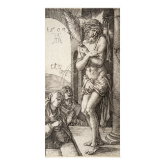 Man of Sorrows by Column by Durer Card