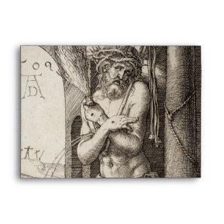 Man of Sorrows by Column by Durer Envelopes