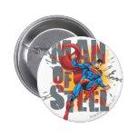 Man of Steel 2 Inch Round Button