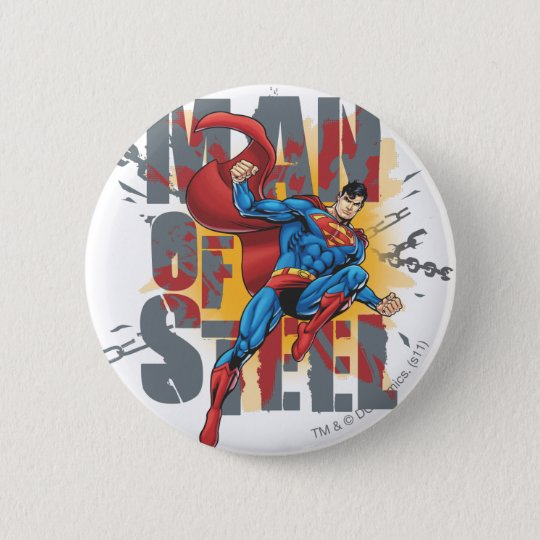 Man of Steel Button
