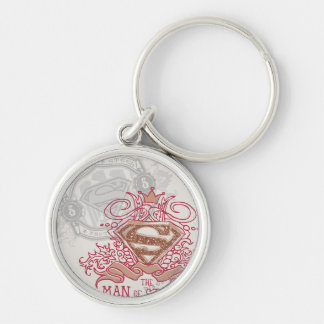Man of Steel, Drawn with Crown Key Chains
