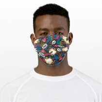 Man of Steel Logo Pattern Adult Cloth Face Mask